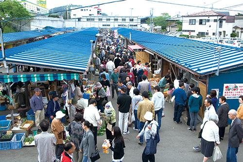 神子田の朝市